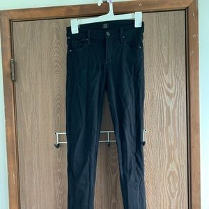 Citizen of humanity skinny black jeans